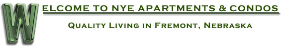 Welcome to Nye Apartments | Quality Living in Fremont | NE